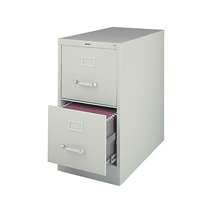 About Staples 2 Drawer Letter Size Vertical File Cabinet Light Gr
