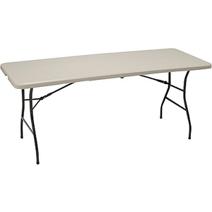 About: Staples® 6u0027 Fold In Half Folding Table