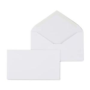 staples gummed 6 3 4 standard business envelopes 500 box 187005