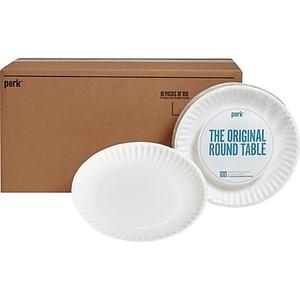 About Dixie 9\  White Paper Plates 1000/Case (WNP910100)  sc 1 st  Staples & GP PRO Dixie® 9\