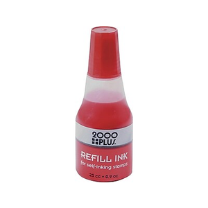 About 2000 PlusR Ink Refills For Self Inking Stamp Pads Red