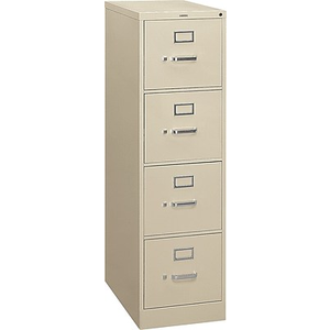 About: HON S380 Series 4 Drawer Vertical File Cabinet, Letter Size,.