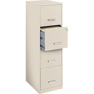 About: Office Designs 4 Drawer Vertical File Cabinet, Stone, Letter.