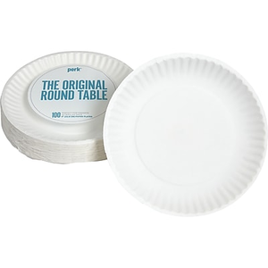 About Staples 9  Economy Paper Plates 100/Pack  sc 1 st  Staples & Dixie 6