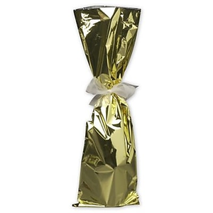 About Mylar 20 H X 6 5 W Solid Wine Gift Bags Gold 100 Pack