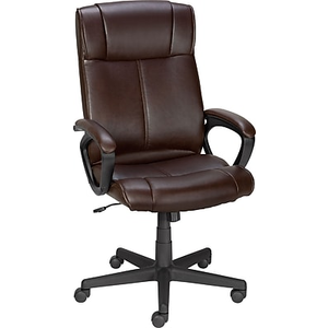 staple office chair. About: Staples® Turcotte Luxura® High Back Office Chair, Brown Staple Chair C