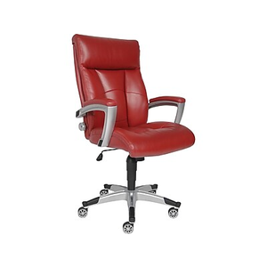 sealy burano bonded leather executive chair black staples