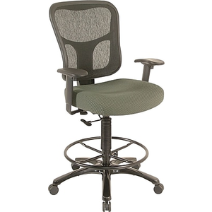 Superieur About: Tempur Pedic® TP8200 Ergonomic Fabric Mid Back Drafting Stoo... Drafting  Chair