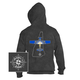New Hampshire State with Airplane Hooded Sweatshirts