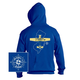 New Jersey State with Airplane Hooded Sweatshirts