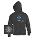New York State with Airplane Hooded Sweatshirts