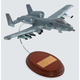 A-10a Warthog 1/54  Mahogany Aircraft Model