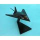 F-117a Blackjet 1/72 (CF117tp)  Mahogany Aircraft Model