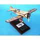 Red Lion 1/20 (krlte) Mahogany Aircraft Model