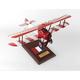 F.1 Camel 1/20 (fbscte)  Mahogany Aircraft Model