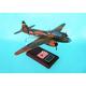 G4M3 Betty 1/48 (fjbte) Mahogany Aircraft Model