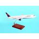 Delta 767-400 1/100 New Livery (KB7674dtr) Mahogany Aircraft Model