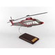 Bell 525 Relentless 1/40 Helicopter Mahogany Aircraft Model
