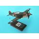 P-40b Warhawk 1/24 As Flown By Tex Hill 1/24 (AP40thts) Mahogany Aircraft Model