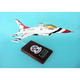 F-16a Thunderbirds 1/32 (CF016tts) Mahogany Aircraft Model