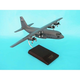 C-130h Hercules Grey 1/100 (AC130gt) Mahogany Aircraft Model