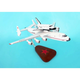 AN-225 Dream W/Shuttle 1/200 (KYNRAN25)Mahogany Aircraft Model