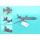 Skymarks KC-10 USAF Mcguire Afb 1/200 New Livery