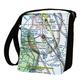 Custom U.S. Aeronautical Chart Shoulder Bag