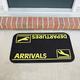 Arrivals and Departures Doormat