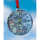 Custom U.S. Aeronautical Chart  Christmas Ornament
