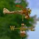 Garden Biplane Weather Vane