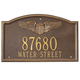 Pilot Wings Address Wall Plaque