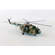 HERPA RUSSIAN AIR FORCE MI-8MT 1/72  Mahogany Aircraft Model