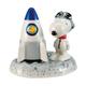 Astronaut Snoopy Ceramic Salt and Pepper Set