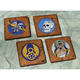 Fighter Squadrons of the 8th Air Force Coasters (Set of 4)