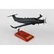 PILATUS U28 USAF 1/40 (KPPC12MTR) Mahogany Model