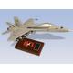 F/A-18C HORNET NAVY 1/38 (CF018CTS) Mahogany Model