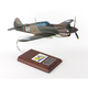 P-40B WARHAWK 1/24 #68 (AP40AVTS) Mahogany Model