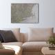 Custom VFR Sectional Chart Canvas Wall Art (20