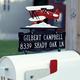 Personalized Bi-Plane Mailbox Sign