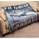 F4U Corsair Fighter Blanket/Throw