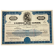Limited Edition United Airlines Certificate of Stock