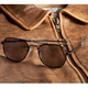 Aviator Sunglasses - 52mm (Black Frame)