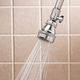 Chrome Self-Cleaning Shower Head