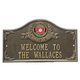 Personalized United States Marines Wall Plaques