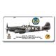 Spitfire VB License Plate Cover