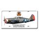 P-47D Thunderbolt License Plate Cover
