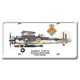 Swordfish II License Plate Cover