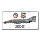 F-4D Phantom II License Plate Cover