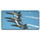 Blue Angels License Plate Cover